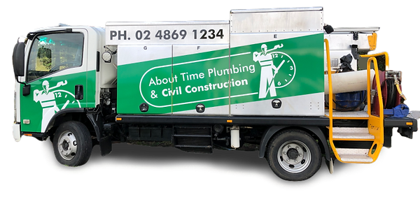 Plumbing Emergency Truck