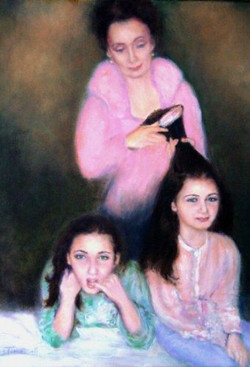 Caroline and her Daughters