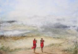Masai Guides - Ngorongoro  Safari