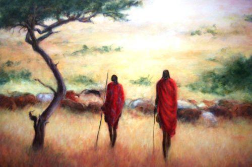 Two Maasai