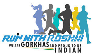 Run with Roshni Logo