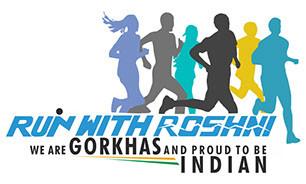 Run with Roshni Logo