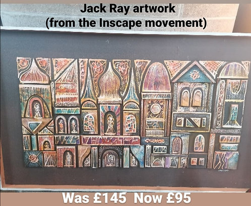 Jack Ray artwork - NEW SALE PRICE