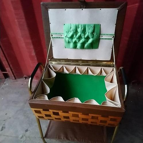 Sewing box/trolley