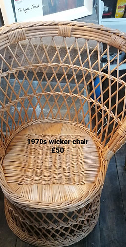 Wicker chair - NEW SALE PRICE