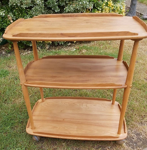 Ercol 3 tier trolley