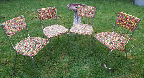 4 Keron dining chairs