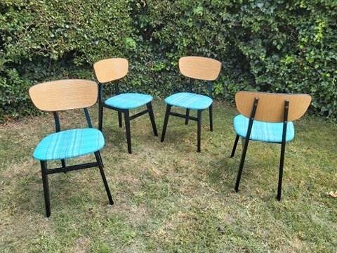 4 midcentury dining/kitchen chairs - NEW SALE PRICE
