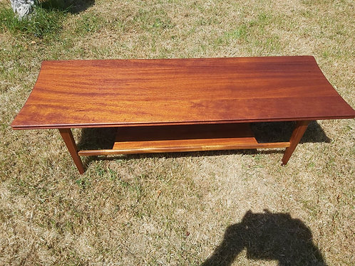 Richard Hornby afromosia coffee table - NEW SALE PRICE