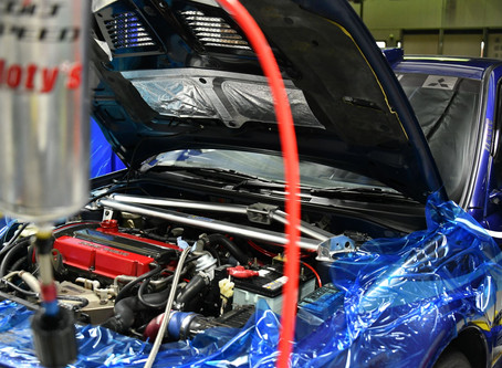 週末はエンジン燃焼室&インジェクター洗浄中!