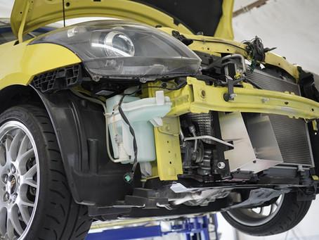 エンジンオイルクーラー交換☆ZC32Sスイフトスポーツ