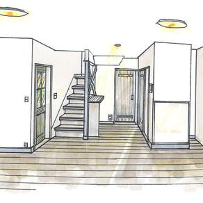 S邸リニューアル計画デザインパース