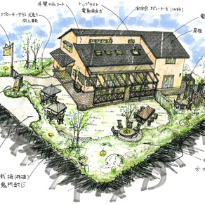 ドッグカフェ 店舗併用住宅新築計画