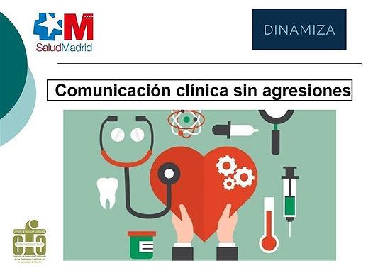 Comunicación clínica sin agresiones.