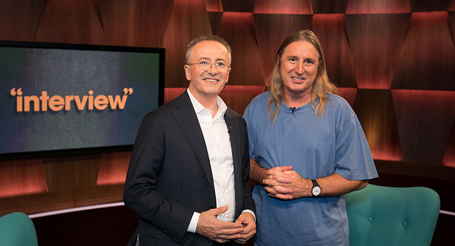 Andrew Denton and Tim Winton on 'Interview' Channel 7