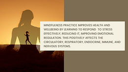 Mindful Living. Benefits of the practice
