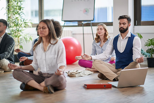 Mindfulness Meditation for Stress Reduction 8 weeks up to 25 participants
