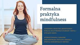 Formalna praktyka mindfulness