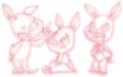 Piggy - childrensbook character design
