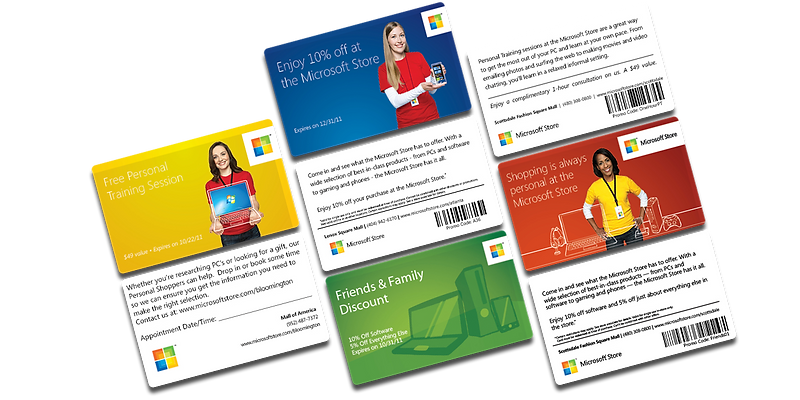 microsoft store cards