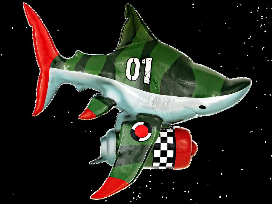 Capt. QUINT Resin toy prototype