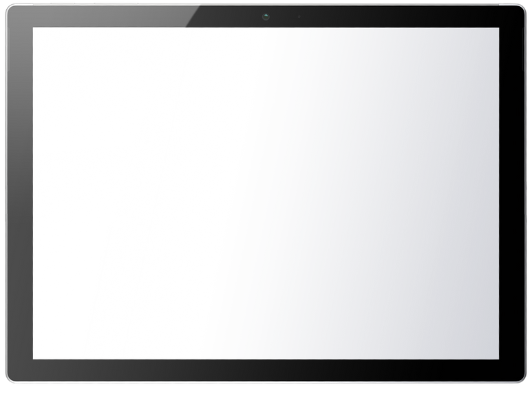 surface blank screen template