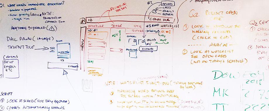 White board app concepting