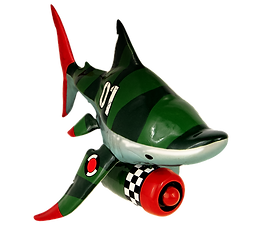 Savannah jet shark designer toy