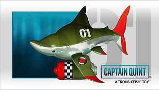 vinyl toy shark designer toy