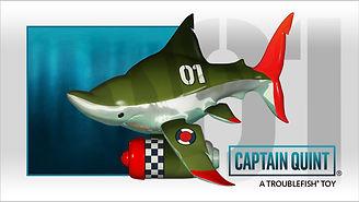 vinyl toy shark designer toy