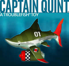 Capt. QUINT designer toy shark