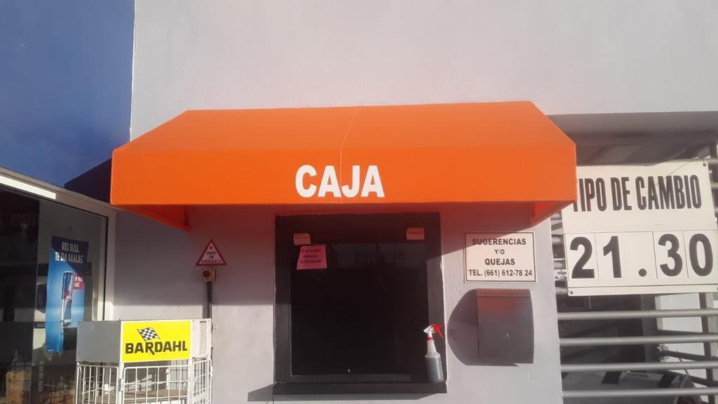 TOLDO CASA DE CAMBIO