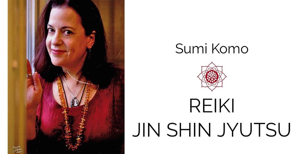 Reiki and Jin Shin Jyutsu with Sumi Komo
