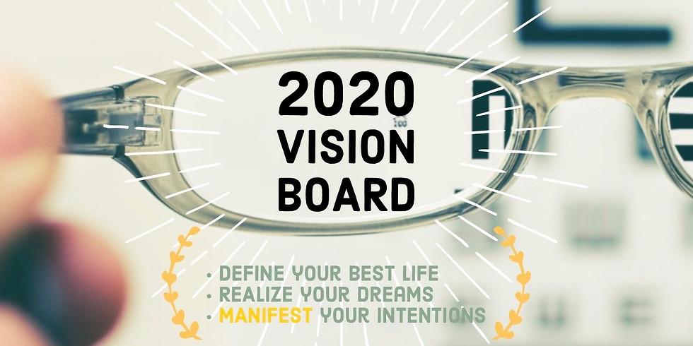 2020 Vision Board Class