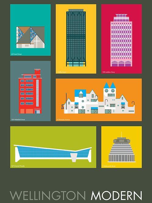 Wellington Modern Poster