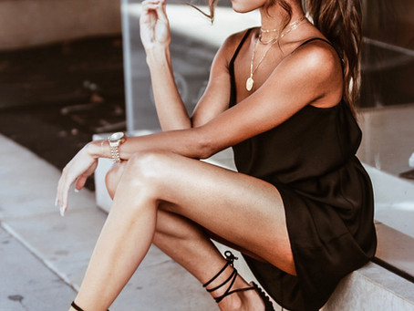 The Simple, Sleek, and Satin Slip Dress