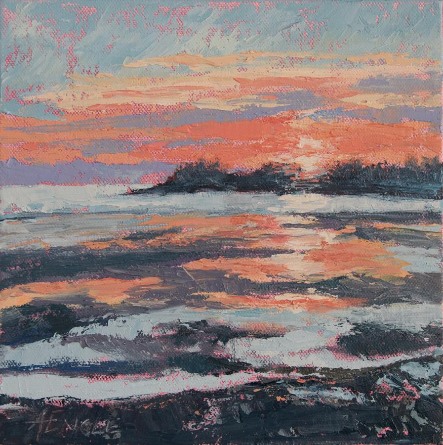 Sunset at False Bay