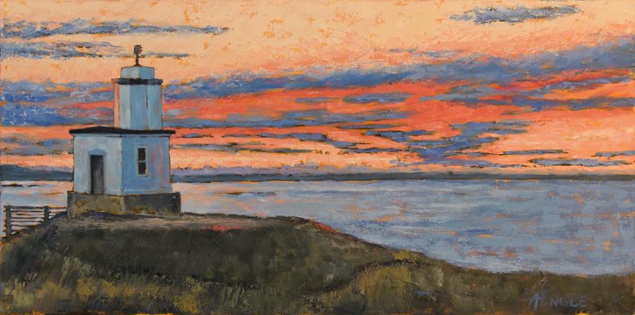 Morning Sky - Cattle Point Light