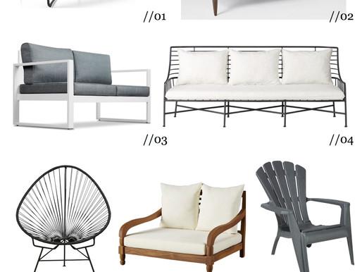 HIGH+LOW: mobilier d'extérieur