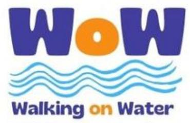WoW - Walking on Water logo
