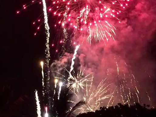 """Daily """"Fireworks"""""""