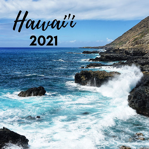 Hawaii 2021 Calendar (misprinted)