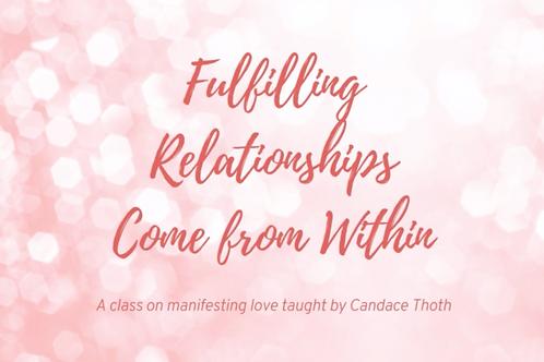Manifest Love Online Class