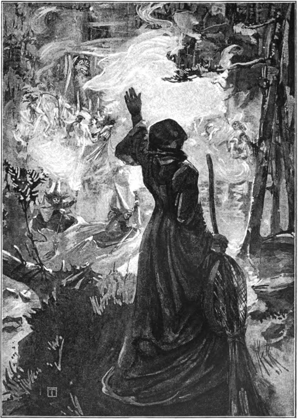 Witches of Delnabo, James Torrance, 1901