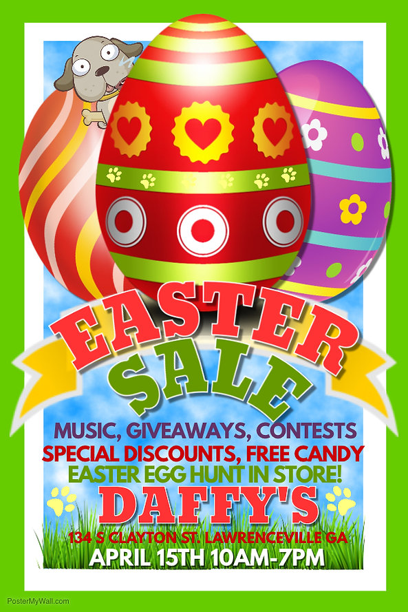 Tremendous Easter Sale Daffys Pet Soup Kitchen Home Complete Home Design Collection Epsylindsey Bellcom