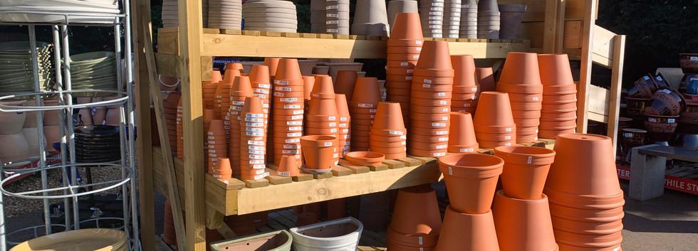 Terractta pots