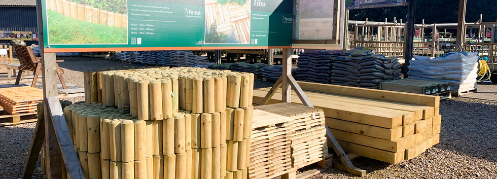Log Roll Edging