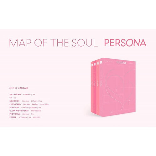 BTS - MAP OF THE SOUL:PERSONA
