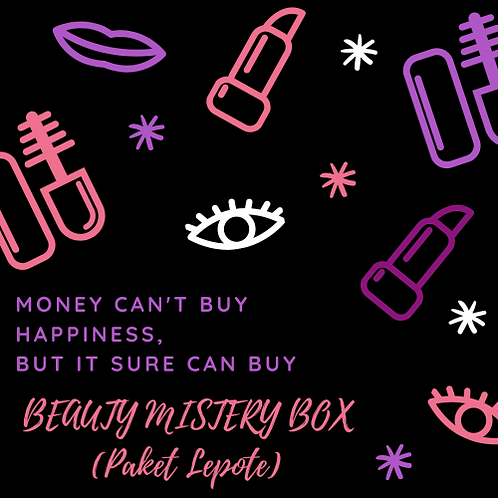 BEAUTY MISTERY BOX (Paket Lepote) - 20 EUR