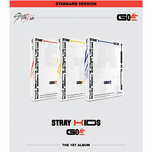STRAY KIDS CD - GO NORMAL VERSION